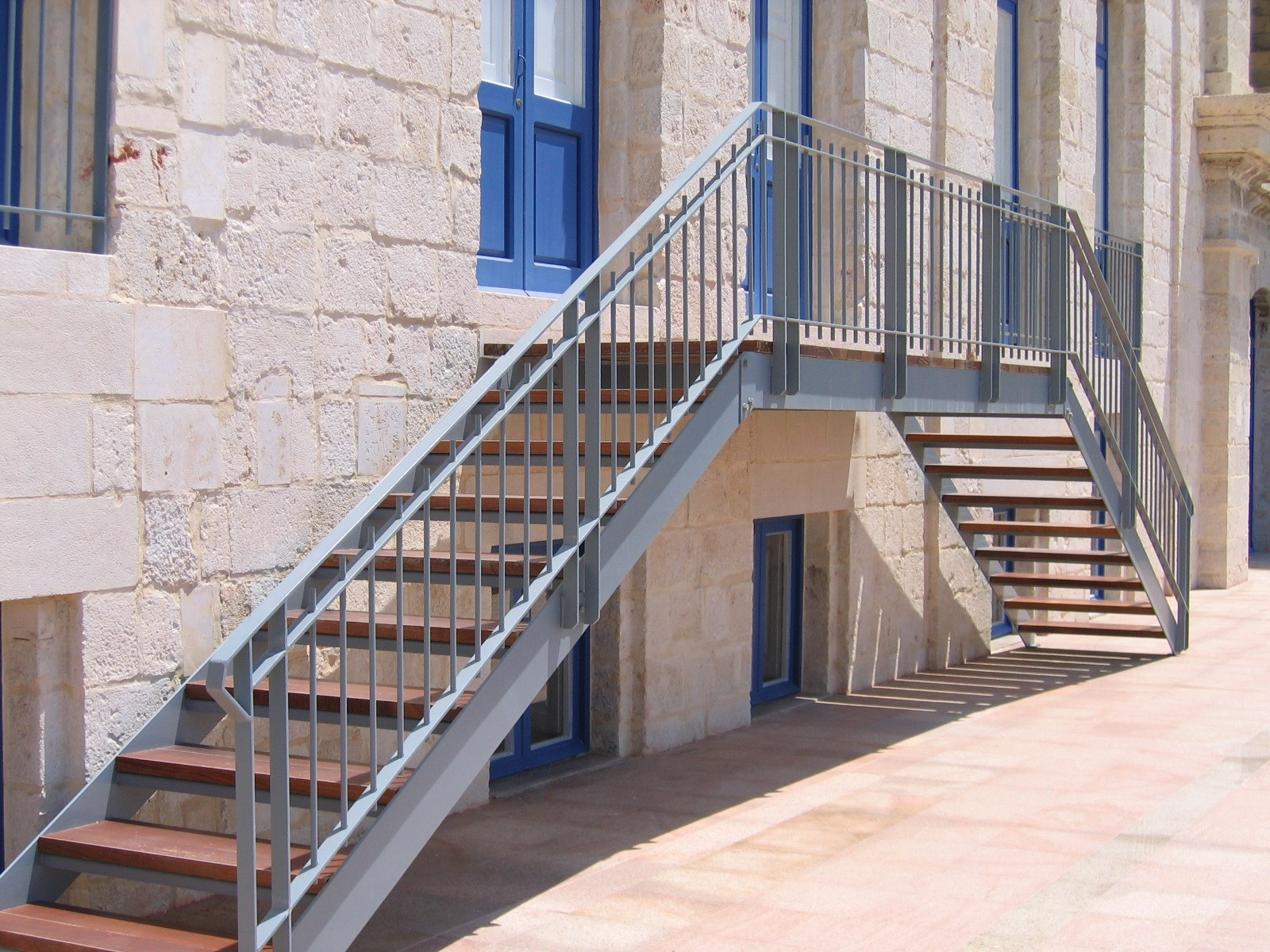 Staircases - The Treasury Building - Vittoriosa Waterfront 1